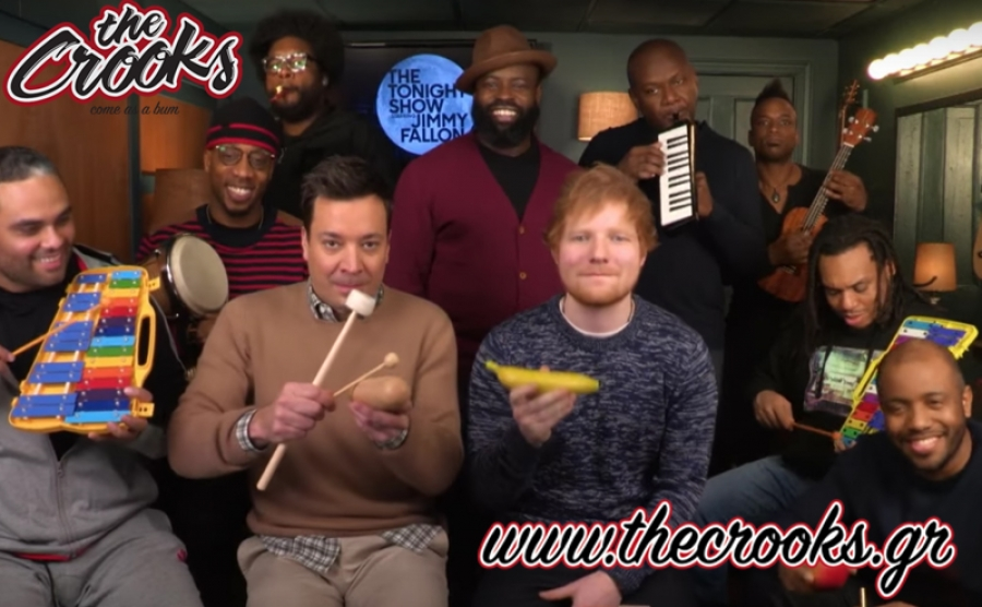 O Ed Sheeran καλεσμενος του Jimmy Fallon  (video)